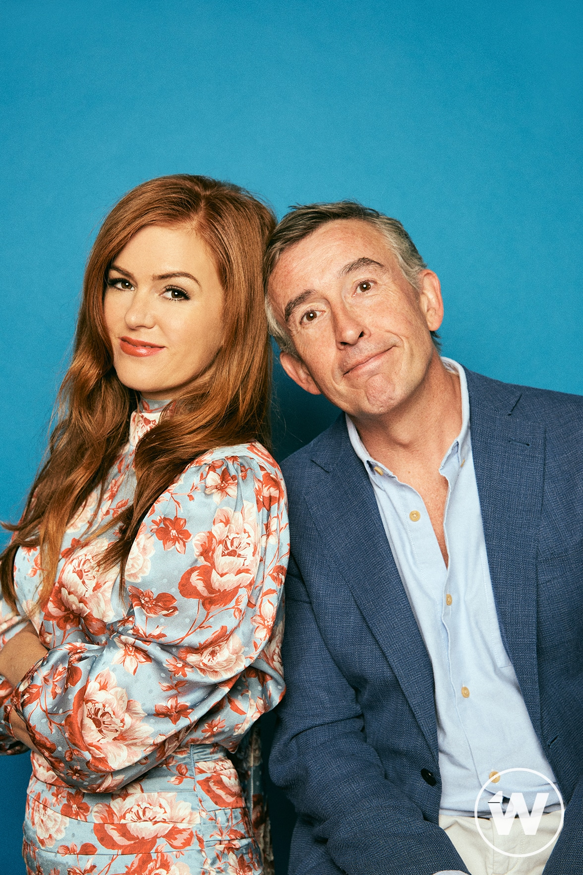 Isla Fisher and Steve Coogan, Greed