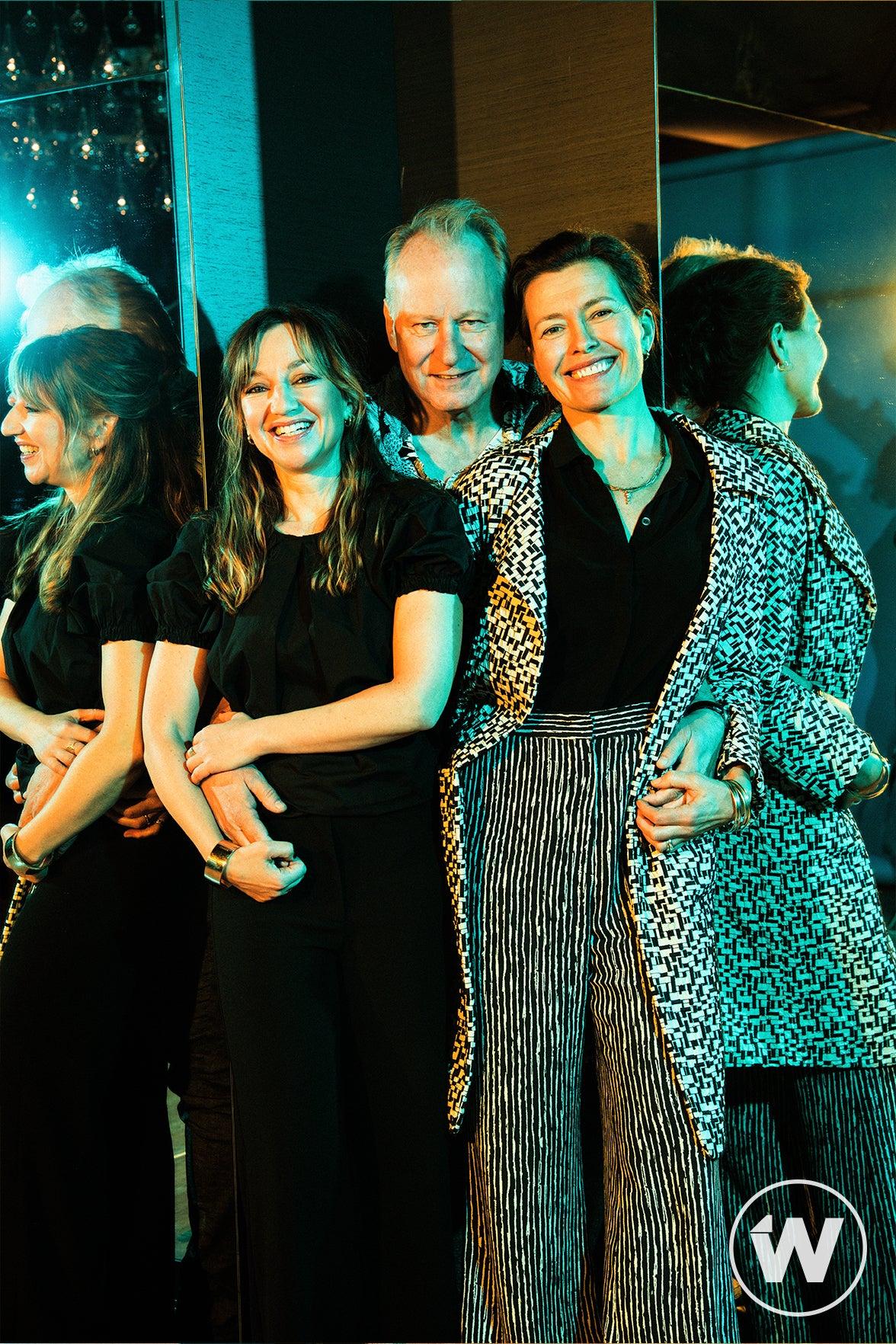 Andrea Bræin Hovig, Stellan Skarsgård, and Maria Sødahl, Hope