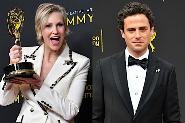 Jane Lynch Luke Kirby Emmys Mrs Maisel