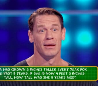 John Cena on 'Are You Smarter Than a 5th Grader'
