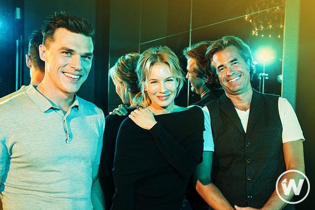 Finn Wittrock, Renée Zellweger, and Rupert Goold, Judy