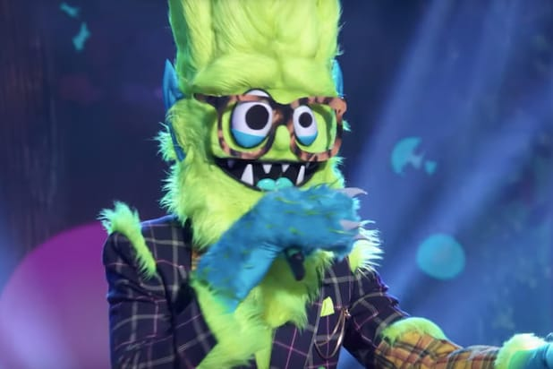 New 'Masked Singer' Season 2 Promo Reveals the Name of That Green, Furry Contestant (Video)
