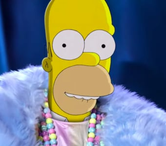 Masked Singer The Simpsons