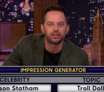 Nick Kroll does Jason Statham