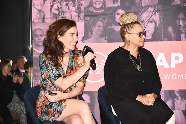 Halina Reijn and Kasi Lemmons at Power Women Toronto
