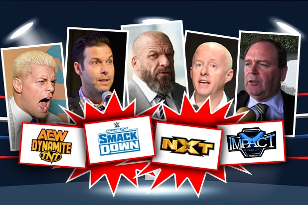 Pro Wrestling TV Shakeup Smackdown AEW Dynamite NXT Impact