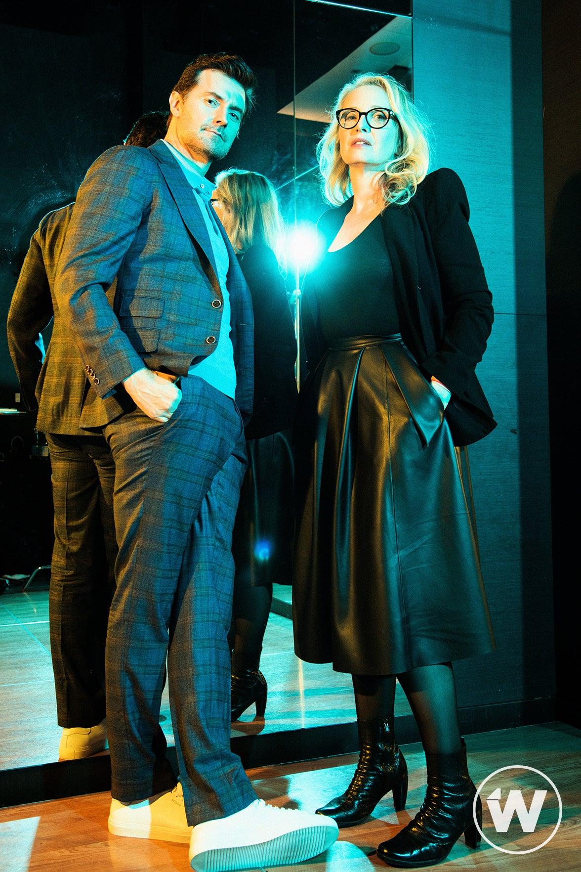 Richard Armitage and Julie Delpy, My Zoe