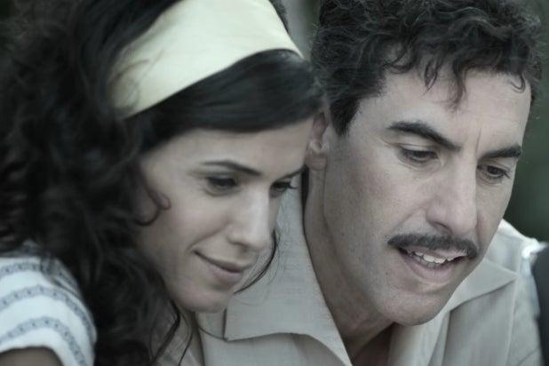 Sacha Baron Cohen, Hadar Ratzon Rotem, The Spy