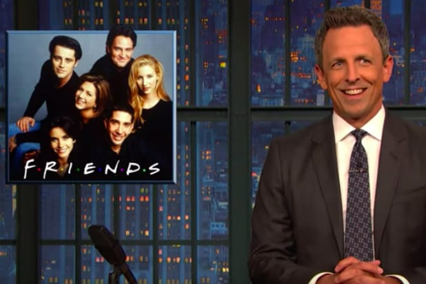 """Seth Meyers pitches """"Friends"""" reboot"""