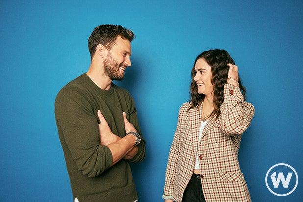 Jamie Dornan and Ally Ioannides, Synchronic