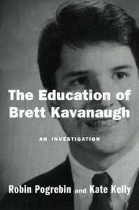 "Cover to ""The Education of Brett Kavanaugh"" book"