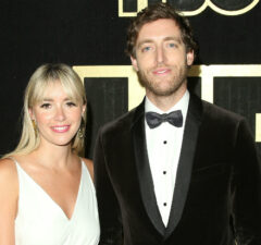 Thomas Middleditch and wife Mollie