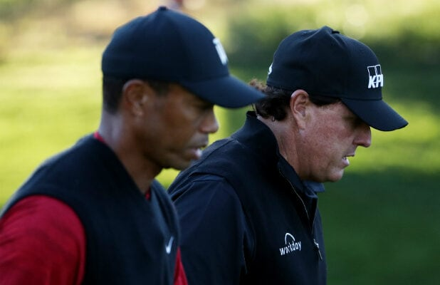 Tiger Woods and Phil Mickelson - The Match