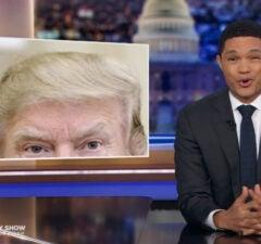 Trevor Noah Donald Trump Bad Hair Daily Show