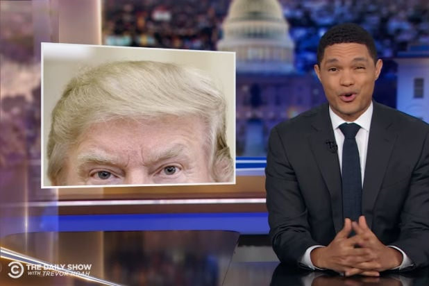 Trevor Noah Has Advice for How Trump Could Look Good Even Without Old-Style Light Bulbs (Video)
