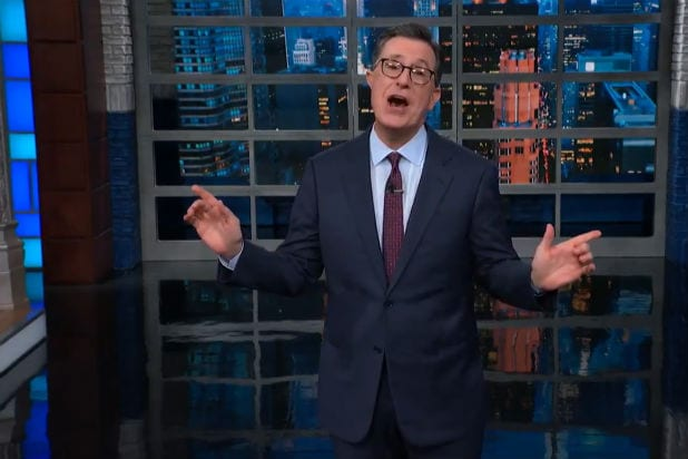 Colbert Dogs Trump's Efforts to Woo Latinos: 'Like Cruella de Vil Trying to Woo Sarah McLachlan' (Video)