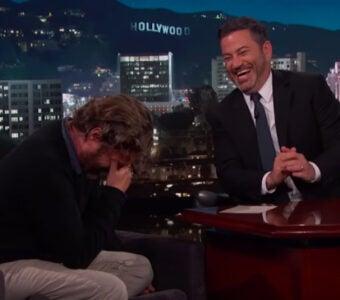 Zach Galifianakis on 'Jimmy Kimmel Live'