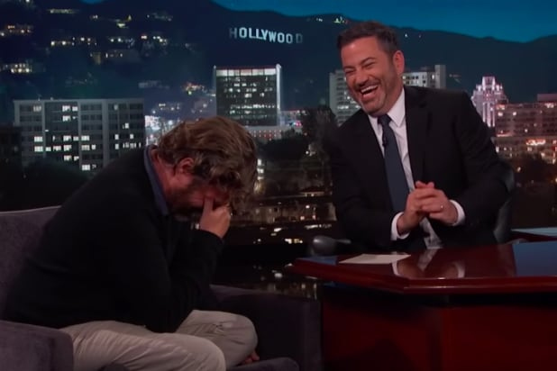 Jimmy Kimmel Probably SHOULD Have Edited This Out From His Zach Galifianakis Interview (Video)
