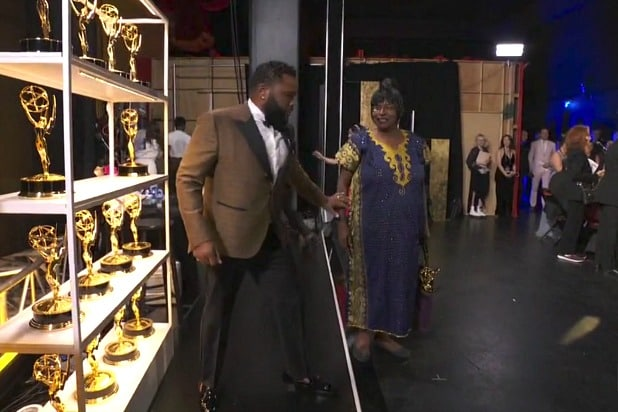 emmys 2019 anthony anderson's mom