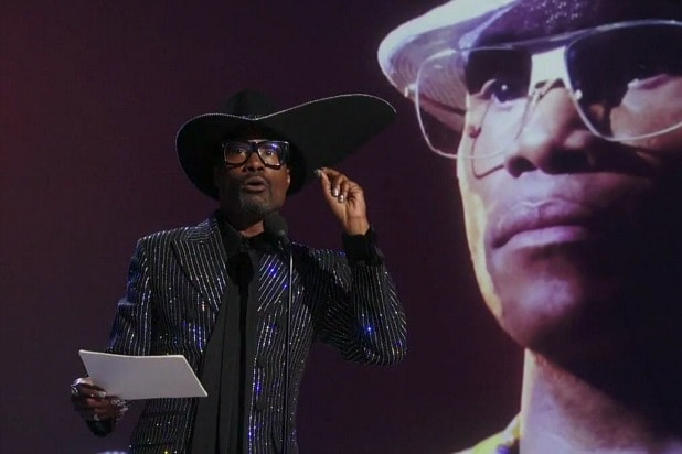 emmys billy porter speech pose