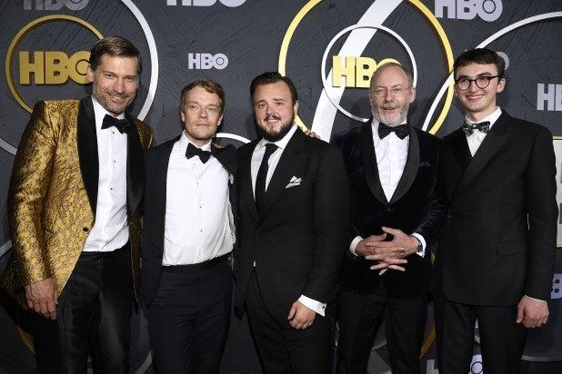 Nikolaj Coster-Waldau, Alfie Allen, John Bradley, Liam Cunningham and Isaac Hempstead Wright