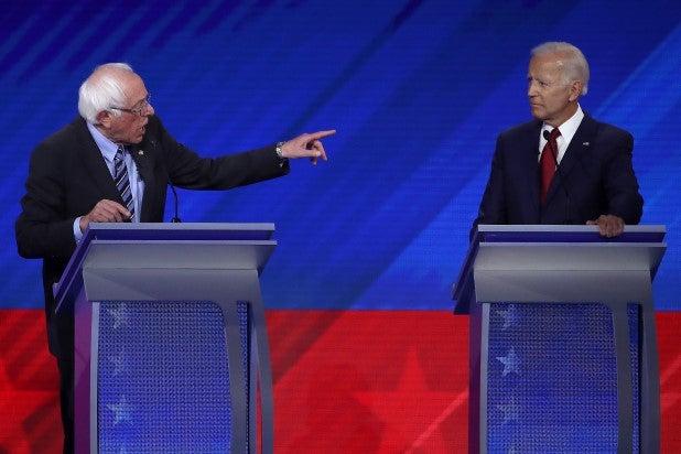 Bernie Sanders Joe Biden