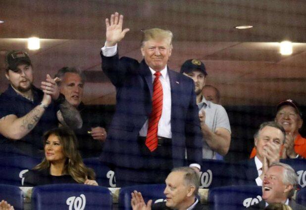 Trump 2 at World Series