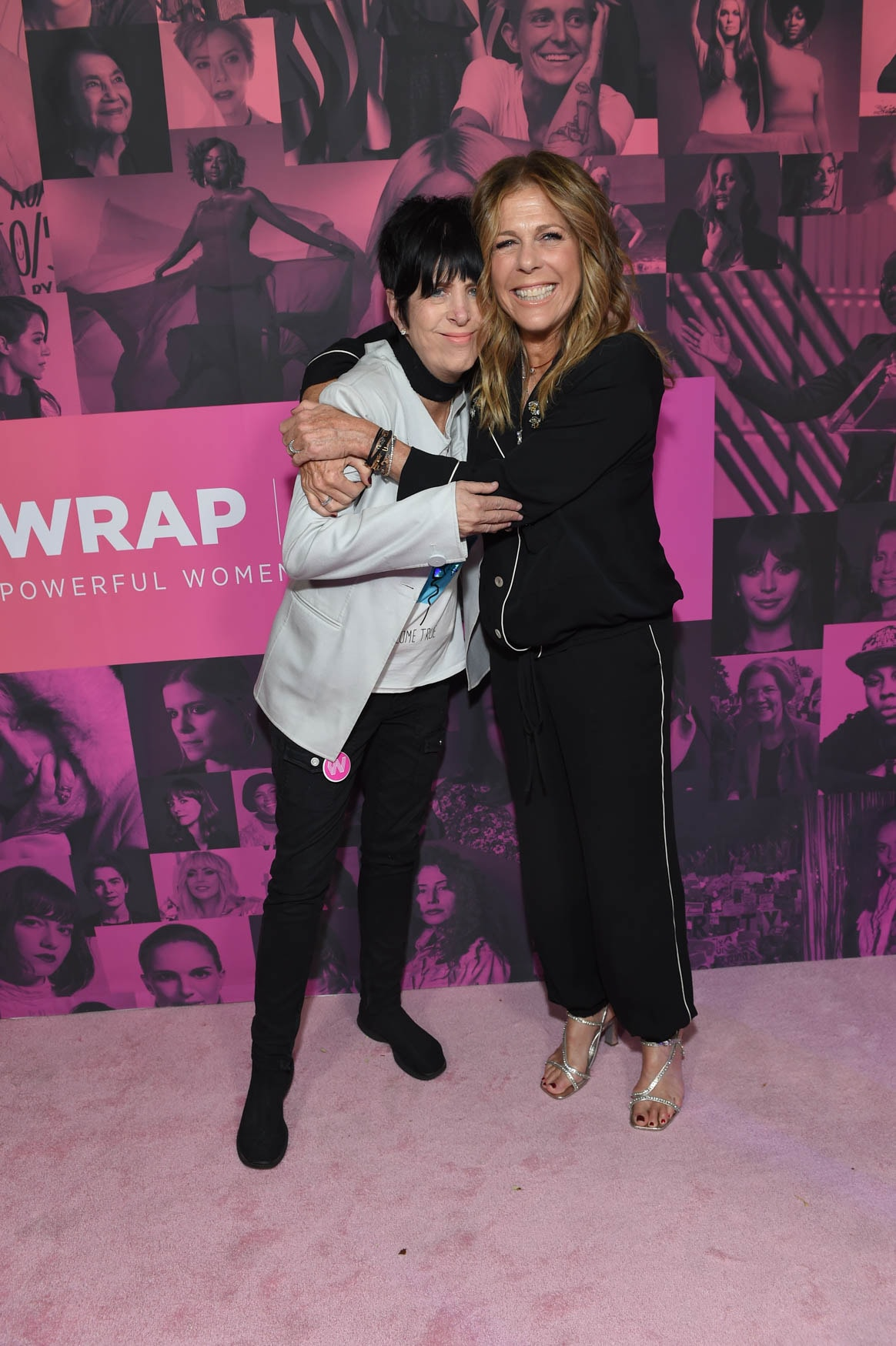 Diane Warren and Rita Wilson at the Power Women Summit 2019