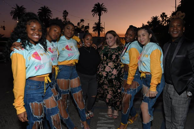 Compton Kidz Club with Chrissy Metz at the Power Women Summit 2019