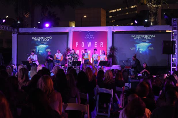 Chrissy Metz performs at the Power Women Summit 2019