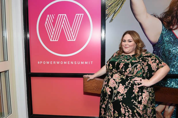 Chrissy Metz at the Power Women Summit 2019
