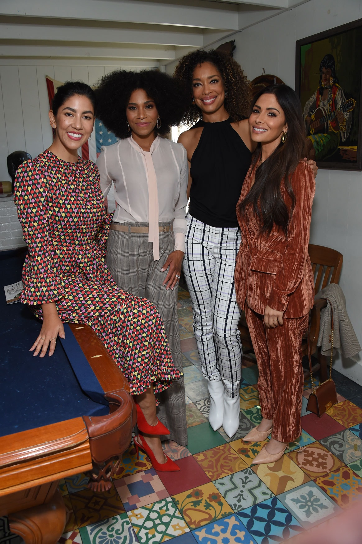 Stephanie Beatriz, Kelly McCreary, Gina Torres and Sarah Shahi at the Power Women Summit 2019
