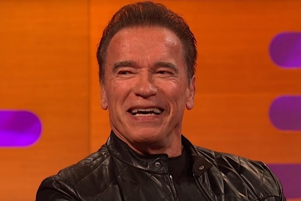 Schwarzeneggers Terminator`: From Killing Machine to Drape Salesman? (Video)
