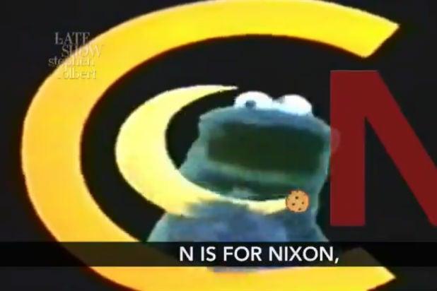 Colbert Trump Cookie Monster Impeachment Inquiry