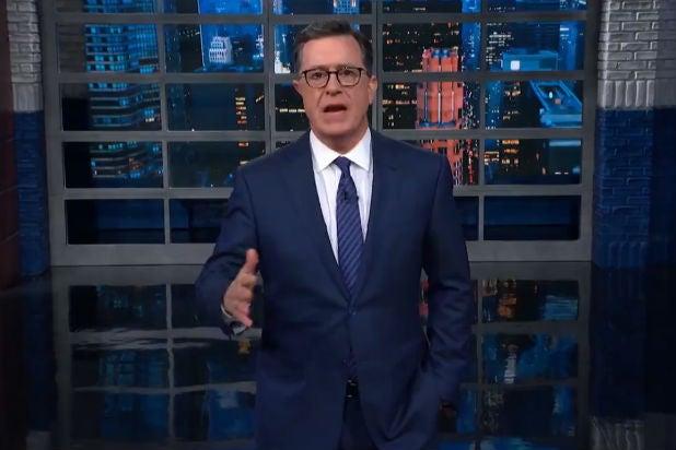 Colbert Trump Hindenburg Syria