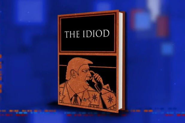 Colbert Trump The Idiod Homer Joke