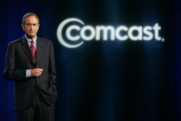 Comcast CEO Brian L. Roberts