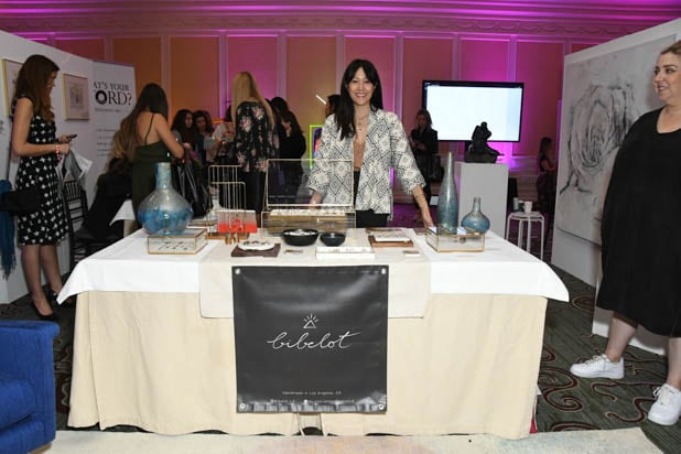 Bibelot jewelry at the Power Women Summit 2019