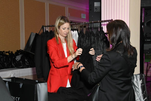 Rachel Zoe clothing at the Power Women Summit 2019