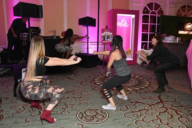 Nicole Steen workout at the Power Women Summit 2019