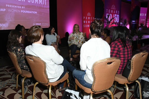 mentorship session at the Power Women Summit 2019