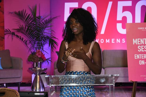 Natasha Ofili at the Power Women Summit 2019
