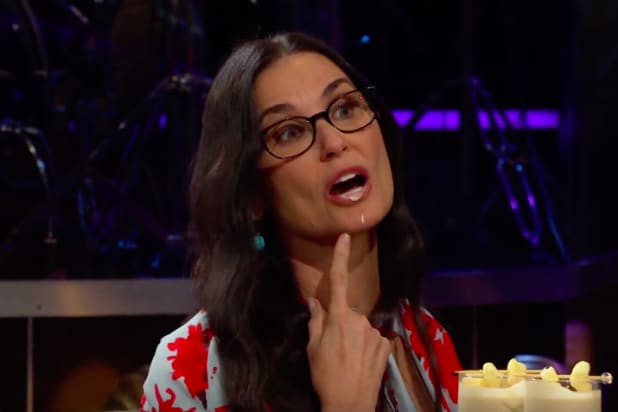 Demi Moore Names the Worst Movie She's Ever Been (Video)
