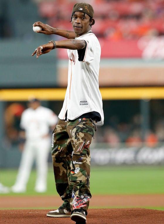 Travis Scott Houston Astros