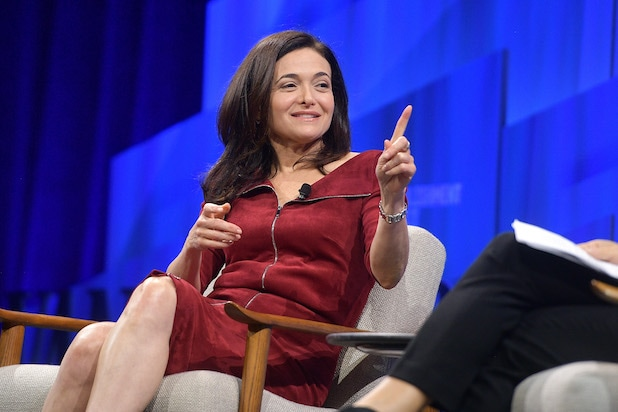 Sheryl Sandberg, Katie Couric at Vanity Fair New Establishment Summit