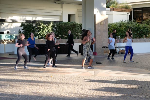 Nicole Steen dance class at the Power Women Summit 2019