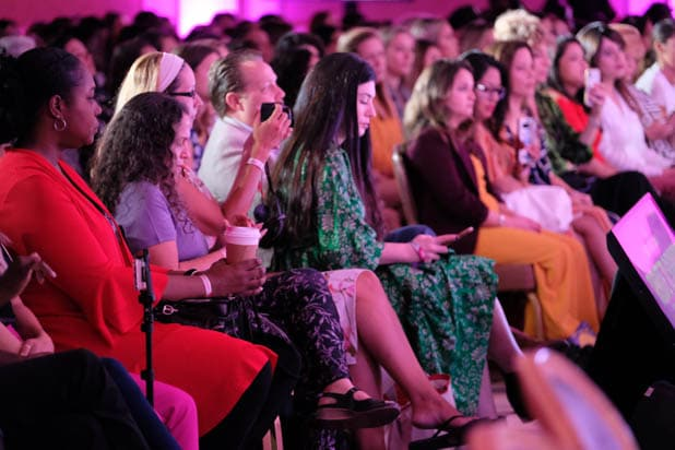 the audience at the Power Women Summit 2019