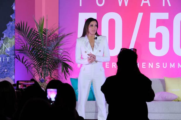 Eva Longoria at the Power Women Summit 2019