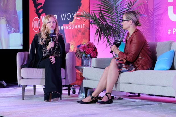 Rachel Zoe and Teal Newland at the Power Women Summit 2019