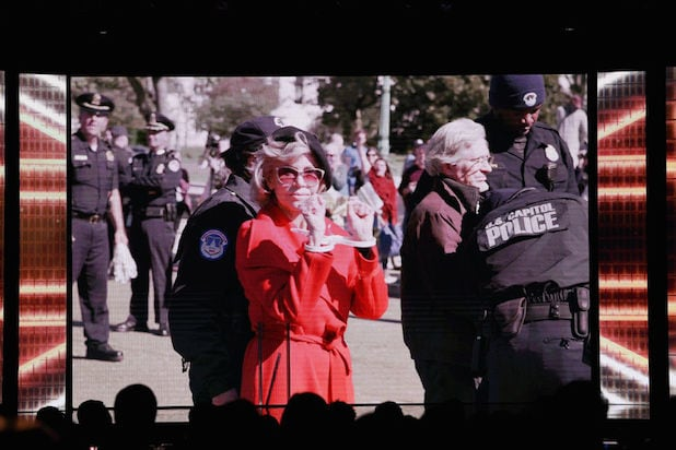 Jane Fonda arrest